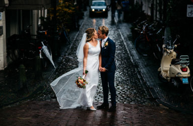 Buiten fotolocatie Bruiloft Leiden
