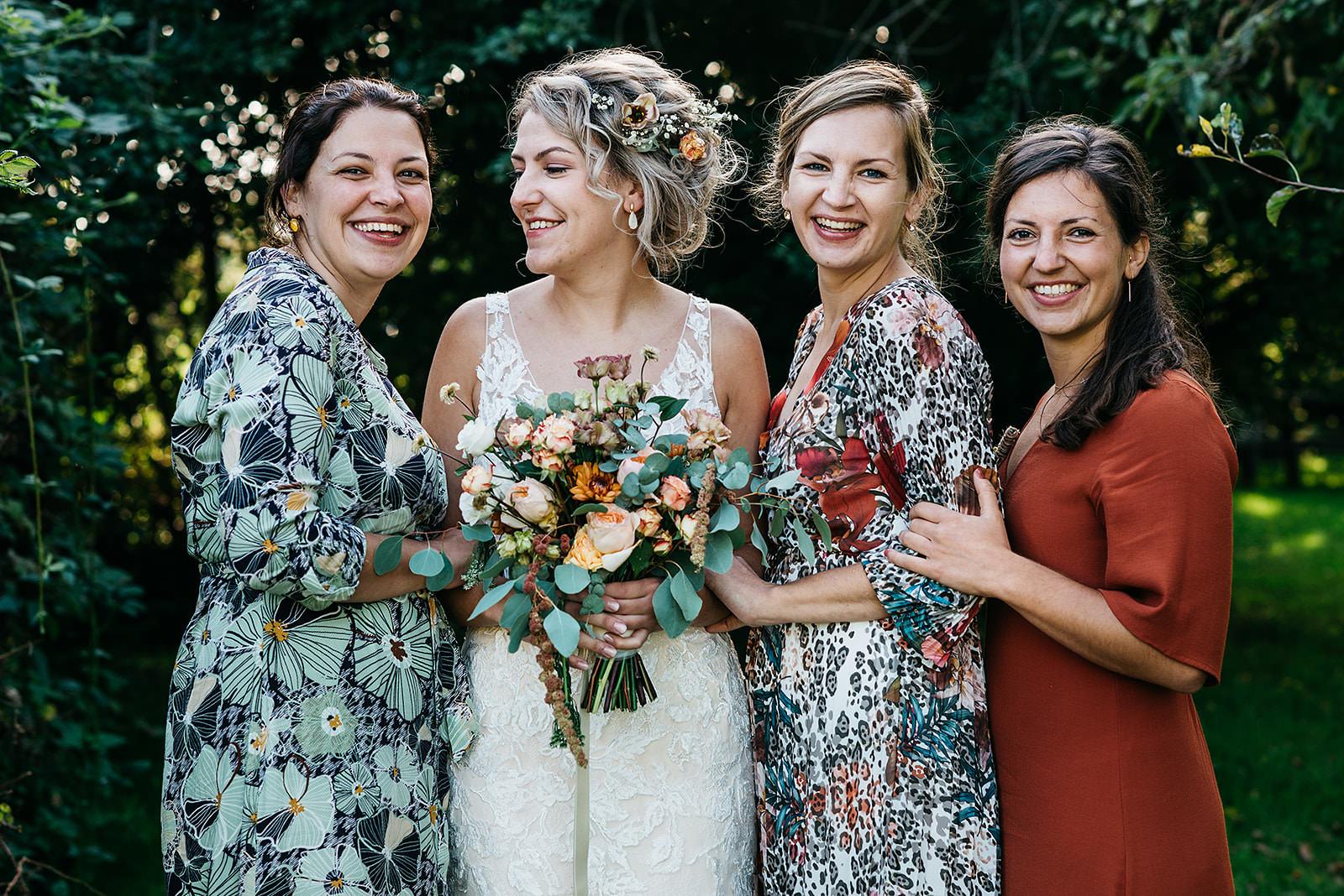 Groepsfoto zussen