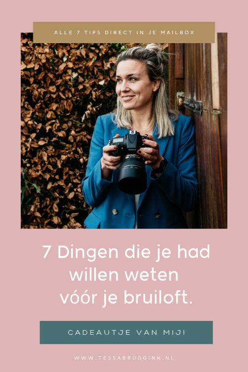 7 Tips Bruidsfotograaf